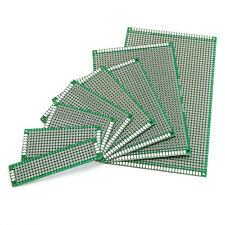 Double-Side Prototype PCB FR-4 Stripboard Universal Printed Circuit Board 8 Size