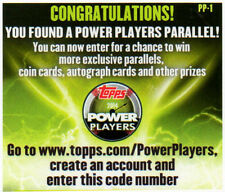 2014 TOPPS SERIES 2 HOBBY POWER PLAYERS UNUSED CODE U PICK COMPLETE YOUR SET