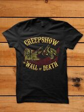 Wall of Death Motorcycle Old School Side Show Horror Rockabilly Shirt Creepshow
