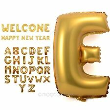 """16"""" Silver/Gold Foil Letter&Number Balloons Party Birthday Wedding Decoration"""