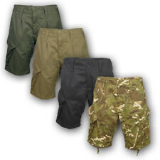 BRITISH ARMY STYLE PCS ACU RIPSTOP SHORTS COMBAT ISSUE CAMO AIRSOFT CARGO