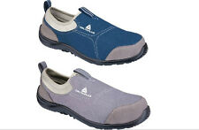Deltaplus breathable light steel toe cap safety shoes indoor safety shoes