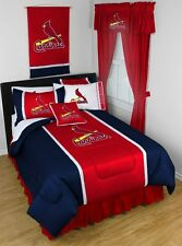 MLB St. Louis Cardinals 10 Piece Bed in Bag