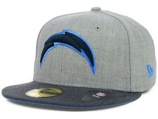 Official San Diego Chargers New Era 59FIFTY Hat NFL Heather 2 Tone