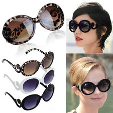 Retro-inspired Women Butterfly Clouds Arms Semi Transparent Round Sunglasses New