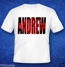 Custom Personalized T-Shirt with Photo/Letters (Any Letter or Logo)