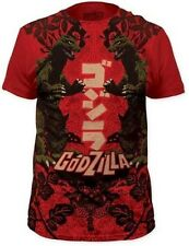 AUTHENTIC GODZILLA DUPLICITY JAPANESE ART MOVIE POSTER T TEE SHIRT S M L XL 2XL