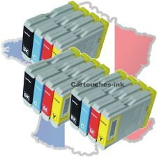 12 Cartouches-ink encre compatible imprimante Brother LC970 LC1000 DCP560CN