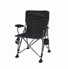 Aviator Suspension Folding Armchair - Comfortable portable chair w/ firm support