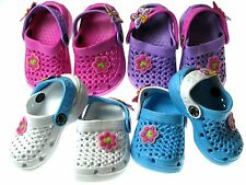 Adorable Casual Girls Baby Toddler Clogs Slide Sandals Slippers Shoes Sz 3-8