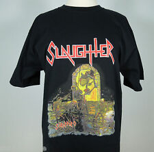SLAUGHTER Strappado Graphic Print T-Shirt size L, XL (NEW)