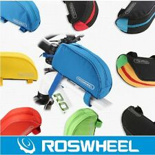ROSWHEEL Cycling Bike Bicycle Frame Pannier Front Top Tube Bag Pouch Case Pack