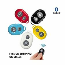 ❤ Bluetooth Remote Control Camera PHOTO Selfie Shutter iphone Samsung Android ❤