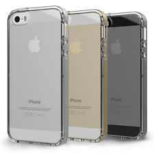 Premium Slim Fit Transparent Clear Soft TPU Bumper Case Cover for iPhone 5 & 5S