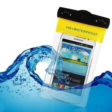 UK Clear Waterproof Underwater Dry Pouch Case Cover Bag For Mobile Phone MP3/MP4