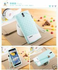Fashion Girl Ice cream Cute Rubber Soft Cover Case+strap For OnePlus One+ A0001