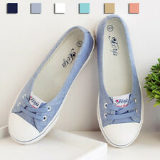 New Women's Shoes Canvas Boat Shoes Flats Loafers Fashion Casual Sneakers XP0011