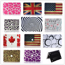 "Pattern Design Rubberized Case Cover Shell For Macbook Pro&Air 11""/13""/15"" inch"