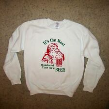 sweatshirt most wonderful time for a beer funny christmas cool cute xmas shirt