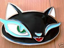 Kitty Cat Belt Buckle Sex Girls Ladies Punk Buckles New