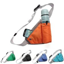 Multifunction Triangle Pouch Waist Bag Running Hiking Jogging Water bottle Pack