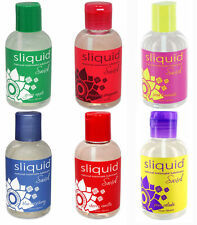 Sliquid Natural Swirl Flavored Personal Sex Lubricant - All Flavors