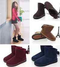 New 5 Colors Women Bowknot Winter Warm Ankle Snow Boots Shoes  5 Colors  5 Sizes