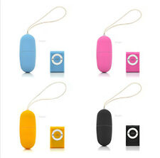 Wireless 20 Speeds Waterproof Vibrator Jump Egg Massager MP3 Remote Control Toy