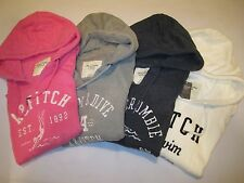 NWT Abercrombie and Fitch Women's Maya Swimming Team Pullover Hoodie Size L