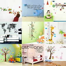 Art Room Home Decor DIY Coloful Multi Styles Lovely Wall Poster Decal Stickers