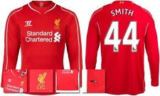 *14 / 15 - WARRIOR ; LIVERPOOL HOME SHIRT LS / SMITH 44 = SIZE*