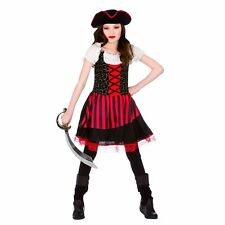 PRETTY PIRATE GIRL CHILDRENS PIRATES FANCY DRESS COSTUME BOOK WEEK OUTFIT 5/13