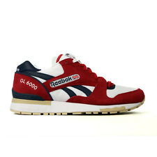 Reebok GL 6000 (Excellent Red/White/Blue Cadet/Bone/Chino) Men's Shoes M41415