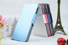 Silk Pattern PU Leather Flip Wallet  Stand Case Cover For Lenovo A390