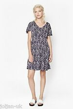 NEW LADIES FRENCH CONNECTION GREY MARBLE POOL JERSEY DRESS SIZE 6 - 16 BNWOT