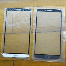 FOR LG G3 Phones Front Screen Real Glass Outer Lens Plate Replacement Plate