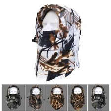 Wind Woodland Camouflage Hunting Warm Full Face Cover Winter Ski Mask Beanie Hat