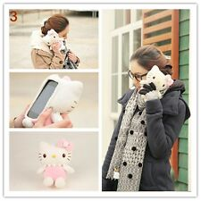 Funny 3D Cute Hello Kitty Plush Toy Doll Cover Case For Various LG Phones