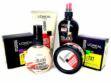 L'Oreal Studio Line Hair Styling Products - Matt & Messy, TXT and more