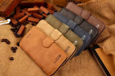Retro Cowhide Real Leather Stand Cover Case Wallet For Apple iPhone 6 PLUS 5.5''