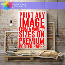 NEW CUSTOM ART - DESIGN CREATE YOUR OWN PREMIUM POSTER WALL ART PRINT