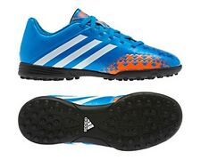 ADIDAS Q21737 PREDITO LZ TRX TF Kids Boys/Girls Blue Indoor Soccer Shoes Cleats