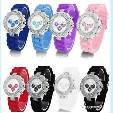 Women multi-colors wrist watch silica band watch candy colors ON SALE WA005