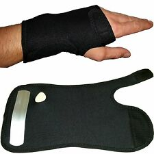 Adjustable wrist support brace strap for carpal tunnel syndrome arthritis pain