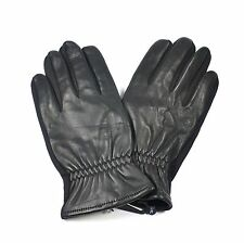 Croft & Barrow Leather Texting Winter Gloves for Men Touchscreen - Black