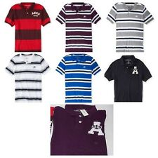 Aeropostale mens polo shirts NWT * U pick * solid & stripped polos various sizes