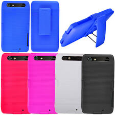 For Motorola Droid RAZR XT912 XT910 Belt Clip Holster Kickstand Hard Case Cover