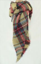 Fashion Damen Herren Schottenkaro Winter Schal Stola Hals Warm Plaid Pashmina