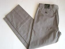 NEW BANANA REPUBLIC Men Gray Taupe Plaid Tailored  Fit Pant 30-38 Waist NWT