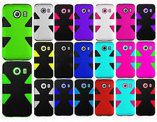 For Straight Talk Samsung Galaxy ACE IMPACT TUFF HYBRID Case Skin Phone Covers